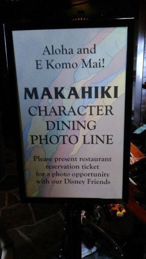 Makahiki Character breakfast