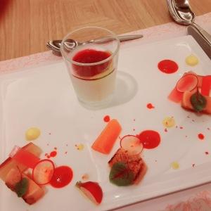宝塚ホテルのディナー