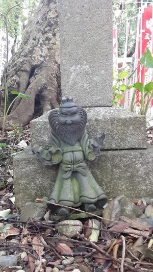 石神さんの参道